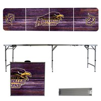 Montevallo Falcons 8 Foot Portable Folding Tailgate Table Weathered Version