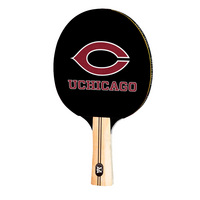 University of Chicago Maroons Table Tennis Paddle Logo Design