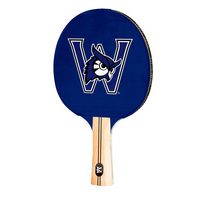 Westfield State University Owls Table Tennis Paddle Logo Design
