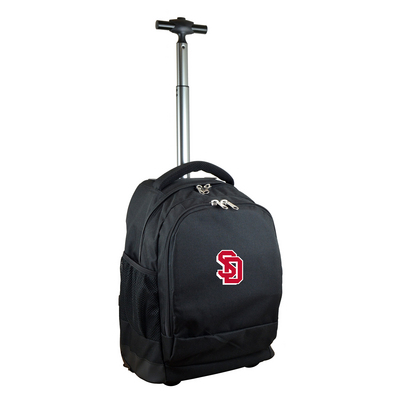 cf629468a2 The University of South Dakota Bookstore - Wheeled Backpack Online Only