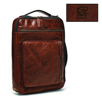 Fossil Leather Buckner Commuter  Brown