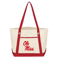 Medium Canvas Boat Tote