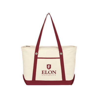 Large Canvas Boat Tote