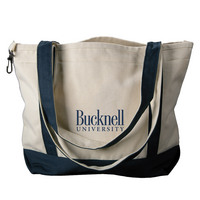 Bucknell Carolina Sewn Medium Canvas Tote