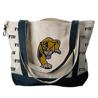 FIU Carolina Sewn Medium Canvas Tote