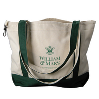 William and Mary Carolina Sewn Medium Canvas Tote