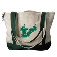 South Florida Bulls Carolina Sewn Medium Canvas Tote