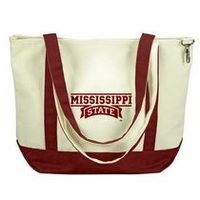 Mississippi State Bulldogs Carolina Sewn Medium Canvas Tote