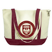 University of Chicago Carolina Sewn Medium Canvas Tote
