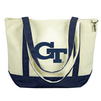 Georgia Tech Carolina Sewn Medium Canvas Tote