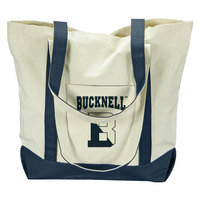 Bucknell Carolina Sewn Large Canvas Tote
