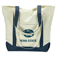 Penn State Nittany Lions Carolina Sewn Large Canvas Tote