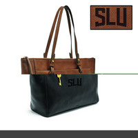 Fossil Leather Rachel Tote  Black