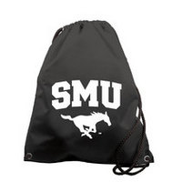 SMU Mustangs Carolina Sewn String Backpack