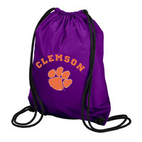 Clemson Tigers Carolina Sewn String Backpack