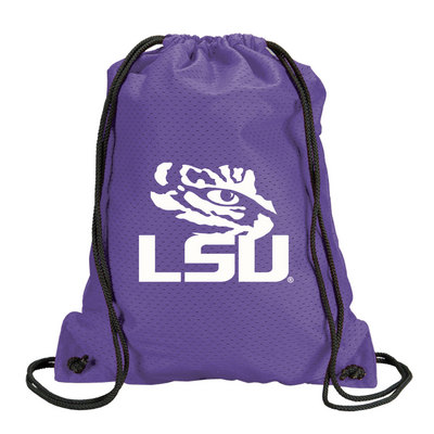 LSU Tigers Carolina Sewn Jersey Mesh Backpack