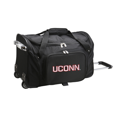 37193152bd92 University of Connecticut Storrs Campus Bookstore - Wheeled Duffel Bag  Online Only