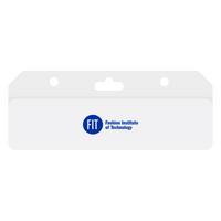 Imprinted Top Bar ID Holder
