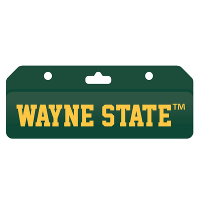 Imprinted Clear ID Holder