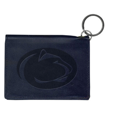 Penn State Nittany Lions Carolina Sewn Leather ID Holder