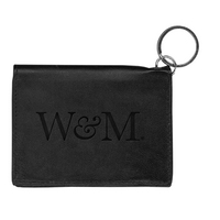 William and Mary Carolina Sewn Leather ID Holder