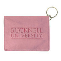 Bucknell Carolina Sewn Leather ID Holder
