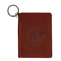 University of Chicago Carolina Sewn Leather ID Holder