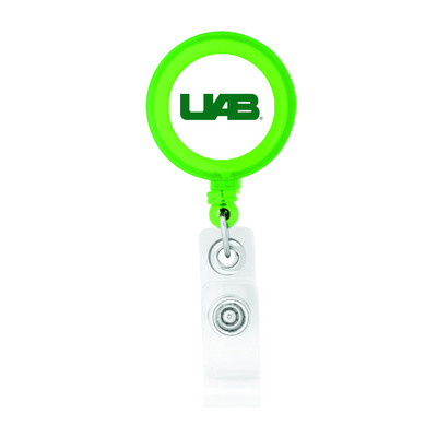Retractable Badge Holder | The UAB Blazer Bookstore