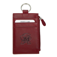 Leather Zip ID Holder