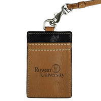 Leather ID Lanyard