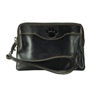 Leather Wrist Wallet