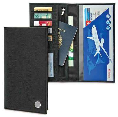 Leather Passport Wallet (Online Only)