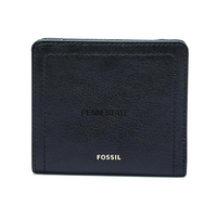 Fossil Leather Logan Small RFID Bifold  Black