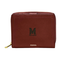 Fossil Leather Logan RFID Mini Multifunction  Black