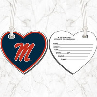 Bag Tag  Heart