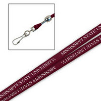 Mississippi State Bulldogs Printed Lanyard