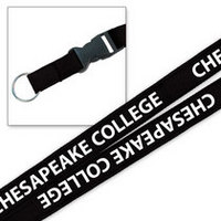 Platinum 34 Inch Woven Lanyard with Buckle