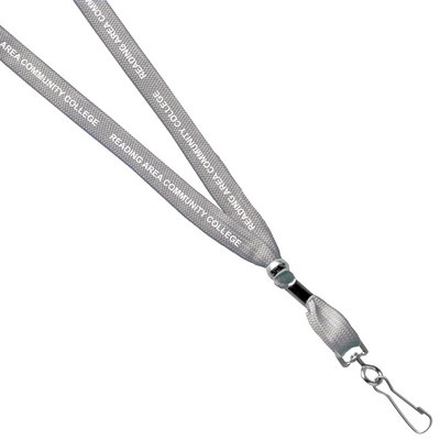 Reading Area Community College Bookstore Printed Lanyard With Hook