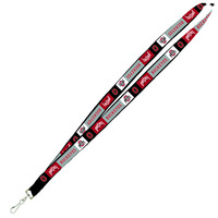 Ohio State Buckeyes Inside Out Lanyard with J-Hook