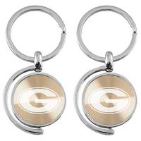 Spinner Engraved Keytag