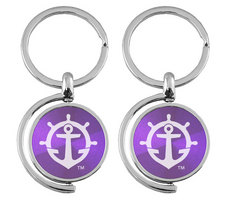 Spinner Key Tag