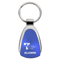 Alumni Teardrop Engraved Key Tag