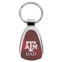 Mom Teardrop Engraved Key Tag
