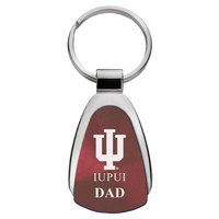 Dad Teardrop Engraved Key Tag