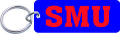 SMU Mustangs Mini Keychain