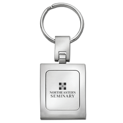 Northeastern Seminary Square Key Tag