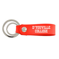 Silicone Snap Key Chain