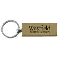 Key Tag Brushed Metal