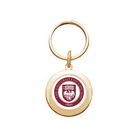 University of Chicago Round Keychain