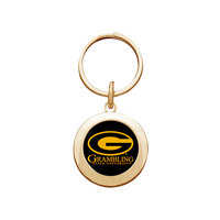 Grambling State Tigers Round Keychain